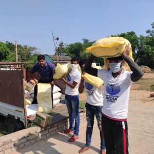 Continued Food, Mask and Sanitiser Distribution in Asia
