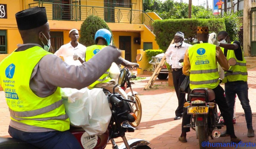 Relief Riders Deliver Rations in Uganda