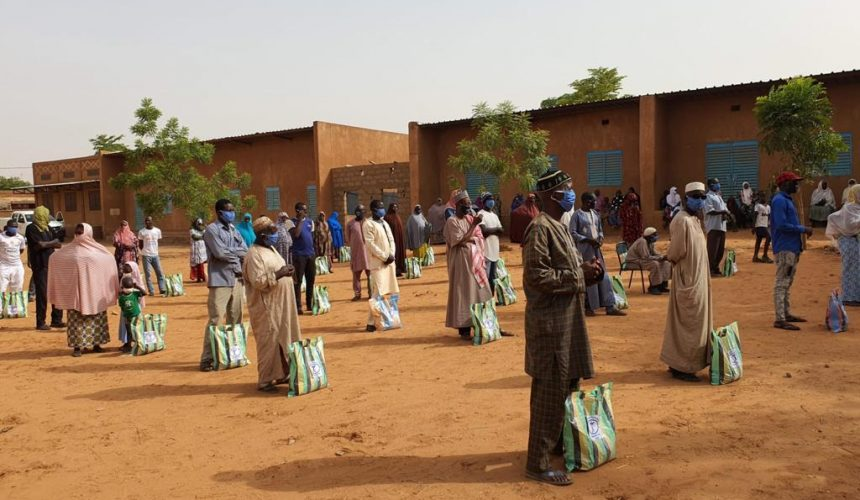 Food Pack Distribution Continues in Niger