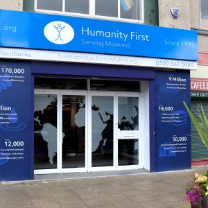 Our First Foodbank Opens in the UK