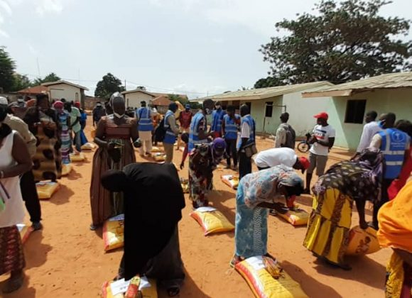 Food Distribution in Guinea Bissau